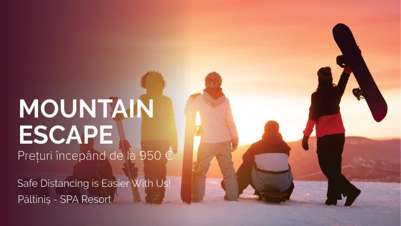 Mountain escape